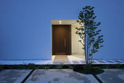 事務所入り口: FCDが手掛けた家です。