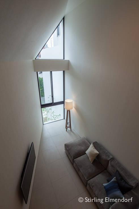fujihara architects의  거실