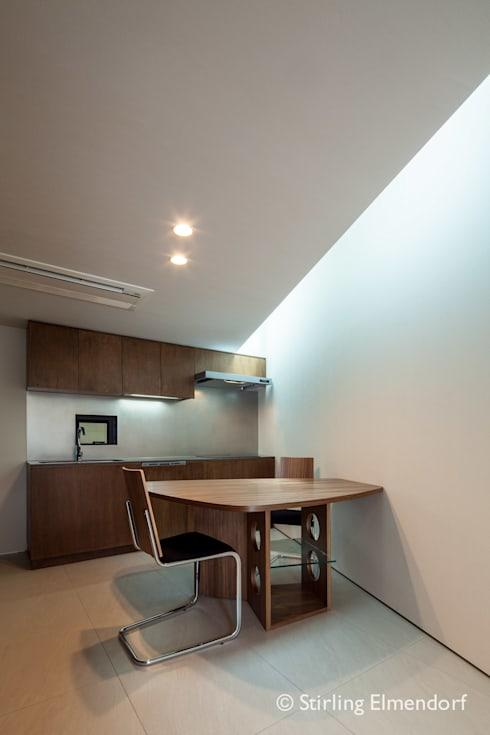 fujihara architects의  다이닝 룸