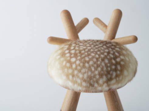 bambi chair: kamina&Cが手掛けた子供部屋です。