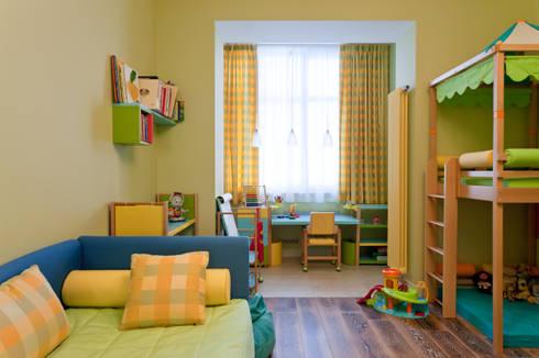 Квартира на набережной.: Детские комнаты в . Автор – А-Дизайн