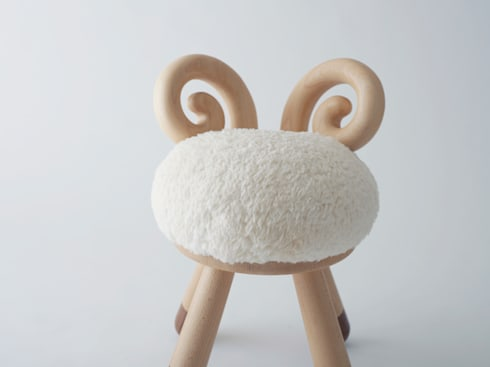sheep chair: kamina&Cが手掛けた子供部屋です。