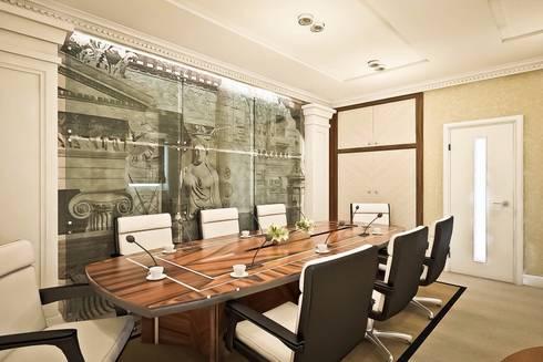 Проект офиса: Рабочие кабинеты в . Автор – Ksana Shkinch Architect
