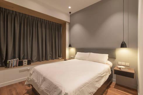D'Leedon: minimalistic Bedroom by Eightytwo Pte Ltd