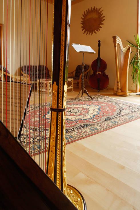 Projekty, eklektyczne Domy zaprojektowane przez Thoma Holz GmbH