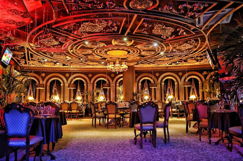 ALLARTSDESIGN - represents a new job - Italian restaurant DON CORLEONE in Berezniki (Russia, Perm): Прихожая, коридор и лестницы в . Автор – ALLARTSDESIGN