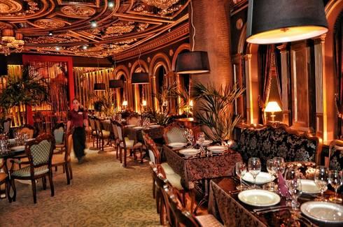ALLARTSDESIGN - represents a new job - Italian restaurant DON CORLEONE in Berezniki (Russia, Perm): Стены в . Автор – ALLARTSDESIGN