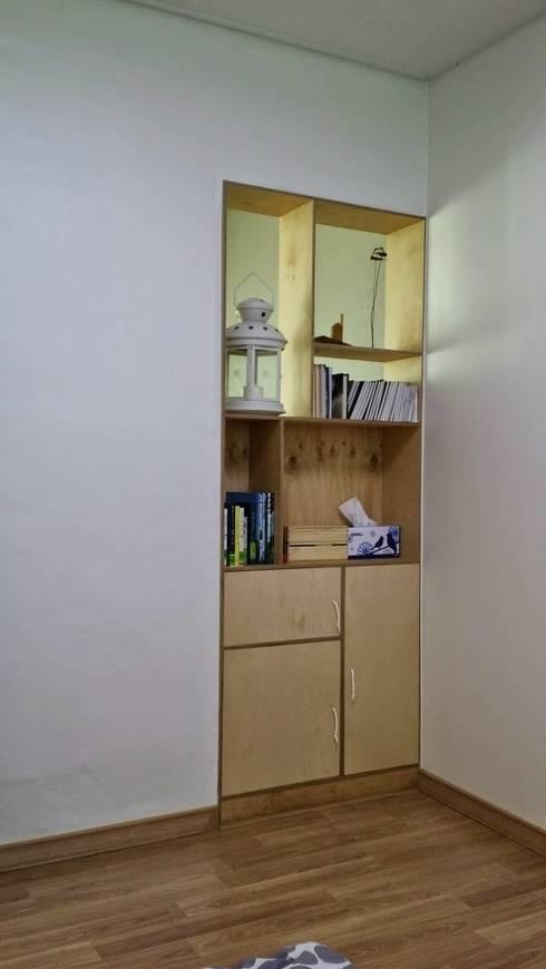 주택 리모델링: 해밀건축사사무소의  주방