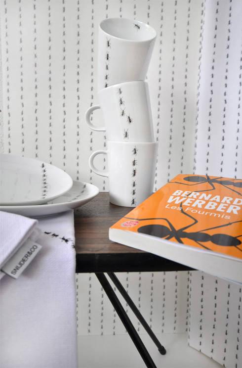 Interieur collectie Les Fourmis : minimalistische Keuken door Snijder&CO