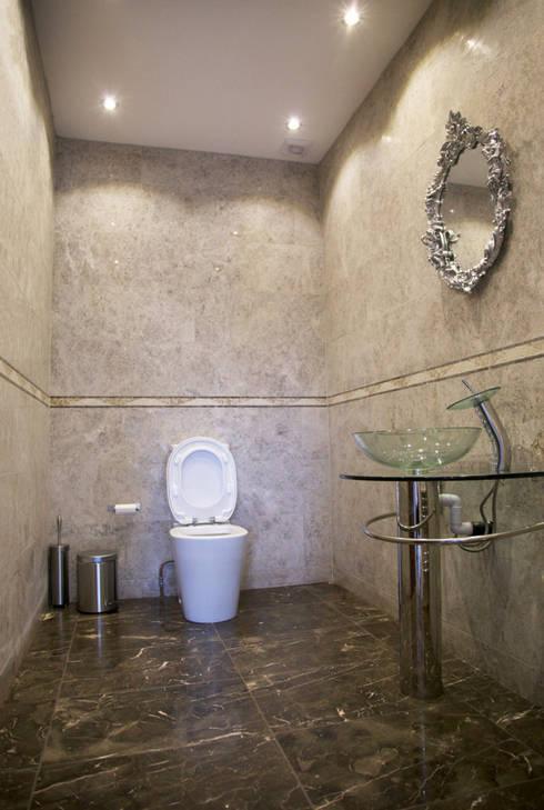 The Barnet Full Conversion: mediterranean Bathroom by The Market Design & Build