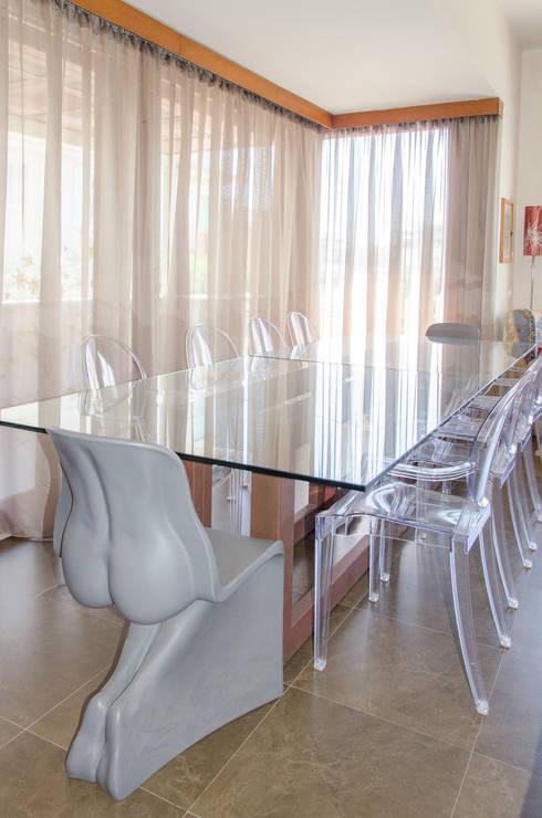 Столовая комната в . Автор – CATERINA CAMEROTA ARCHITETTO