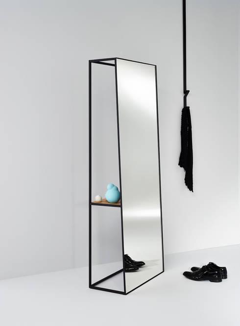 CHASSIS XL:  Badkamer door Deknudt Mirrors