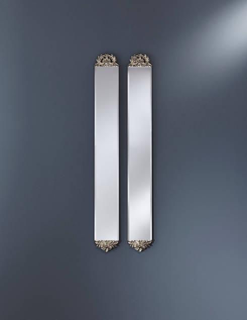 SLIM CLASSIC: klasieke Gang, hal & trappenhuis door Deknudt Mirrors