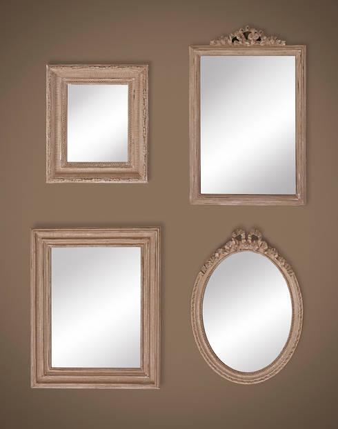 HOMY - COSY - MINI - BONNY:  Woonkamer door Deknudt Mirrors