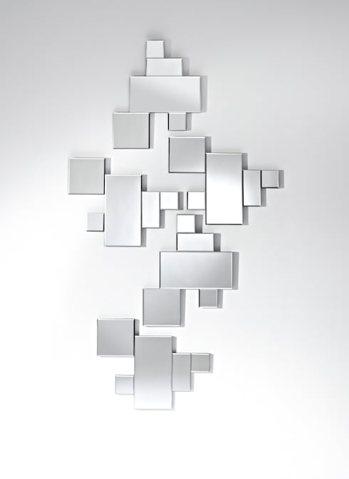 Projekty,  Salon zaprojektowane przez Deknudt Mirrors