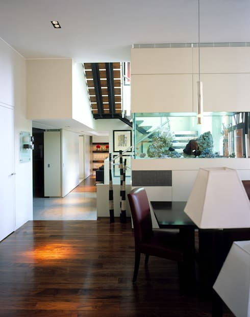 Holford Road 1:  Dining room by KSR Architects