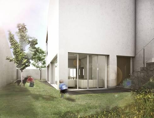 Amanali I: Casas de estilo moderno por REA + m3 Taller de Arquitectura