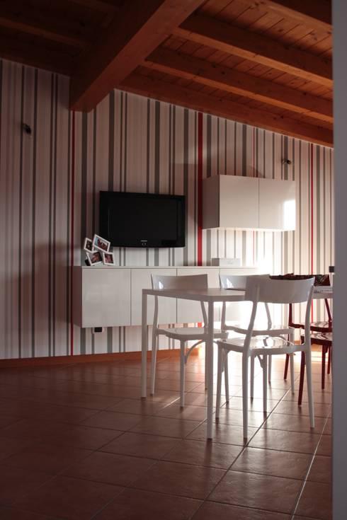 Dettagli di rosso: Cucina in stile in stile Moderno di GRETA DONIS