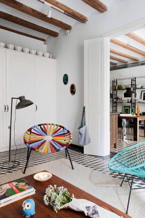 Livings de estilo mediterraneo por Egue y Seta