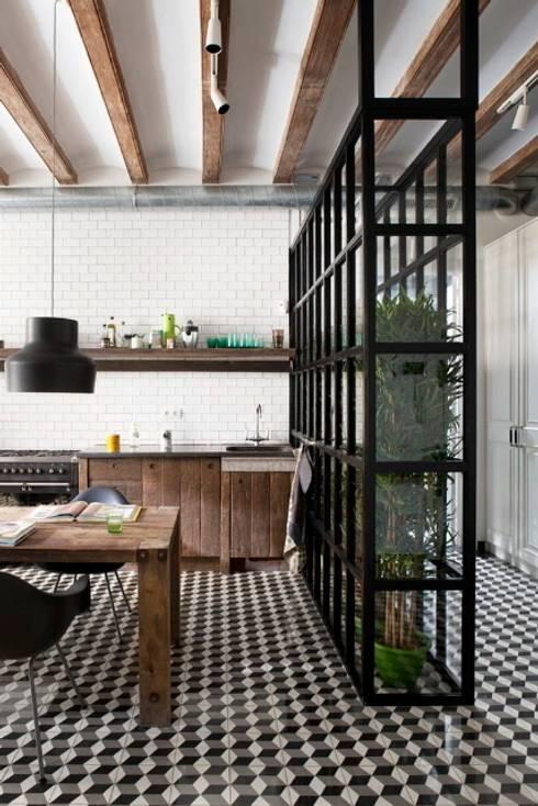 Projekty,  Kuchnia zaprojektowane przez Egue y Seta