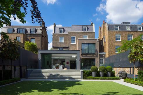 Hamilton Terrace: modern Houses by KSR Architects