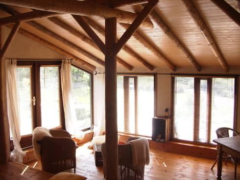 kiezen voor natuurlijke en duurzame materialen: scandinavische Huizen door mickers architectuur