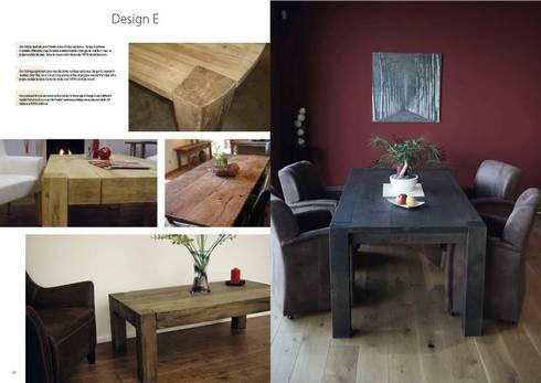 Design E: Comedor de estilo  de Esco suelos de madera