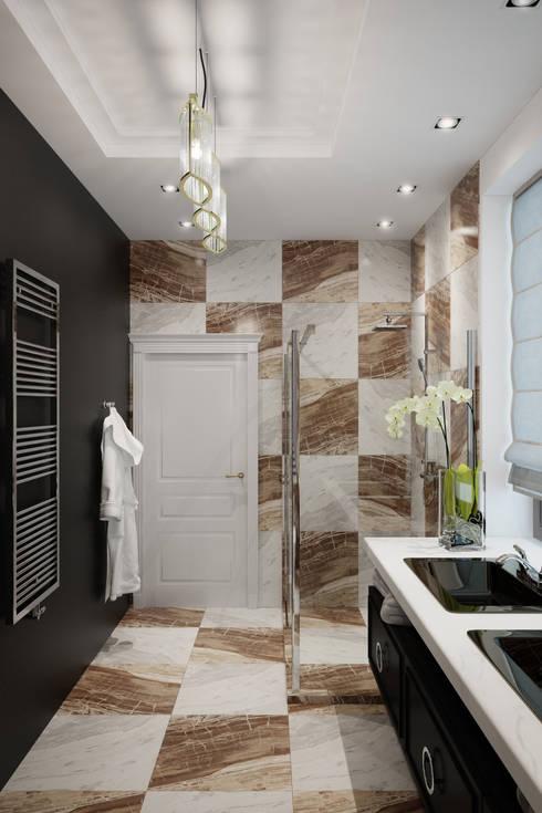 Лион: Ванные комнаты в . Автор – Level