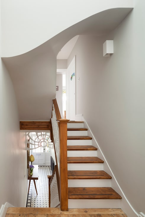 Homerton:  Corridor & hallway by Scenario Architecture