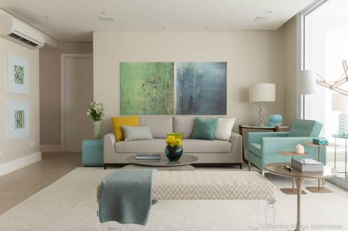 Living Room: Salas de estar modernas por Marilia Veiga Interiores