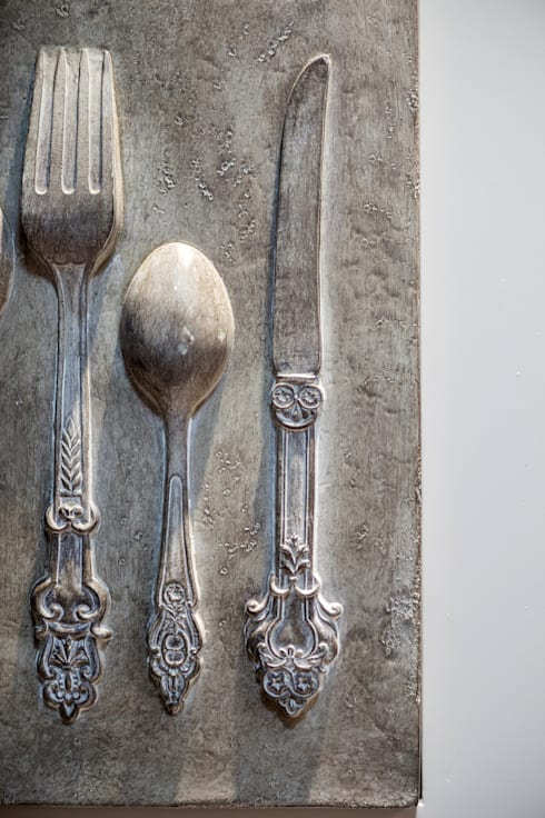 Projeto 12 – Residência Clean: Cozinhas modernas por GREISSE PANAZZOLO ARQUITETURA