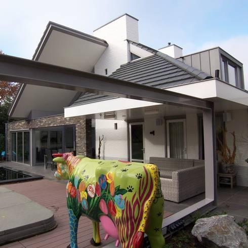 nieuwe achtergevel:   door EIKplan architecten BNA