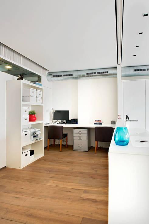 Рабочие кабинеты в . Автор – estudioitales