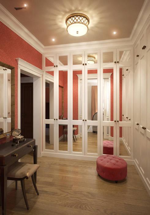 Квартира в стиле эклеткики: Гардеробные в . Автор – COUTURE INTERIORS