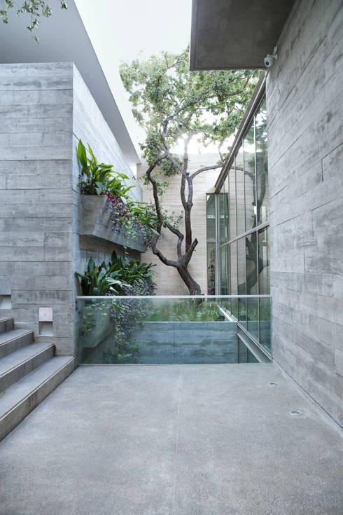 Jardines de estilo moderno de Landa Suberville