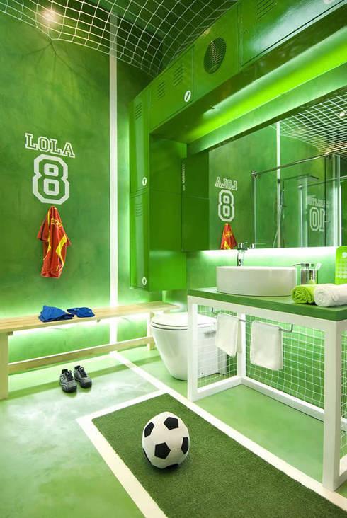 Egue y Setaが手掛けた浴室