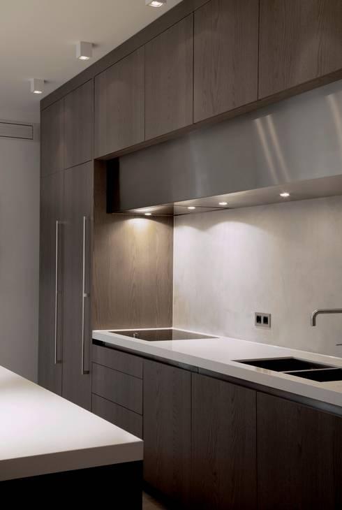 Project Glasshouse: minimalistische Keuken door Proest Interior