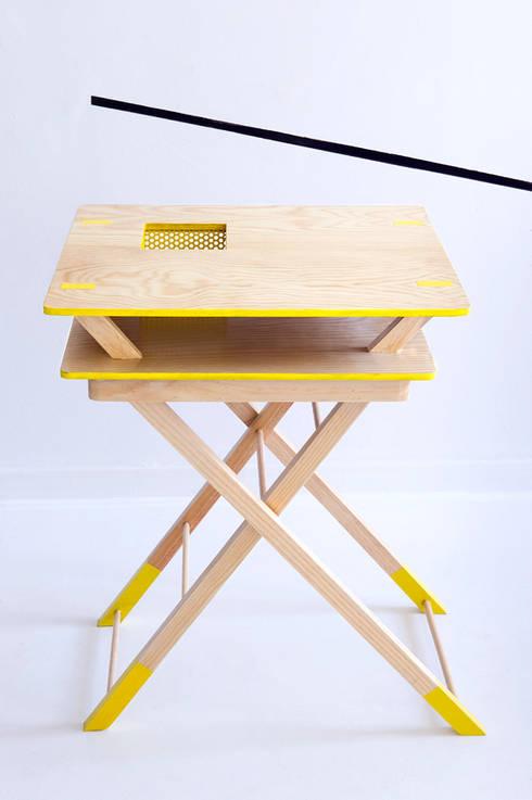 Double Decker. Colaboración con la fundación Carmen Pardo-Valcarce: Hogar de estilo  de Egue y Seta