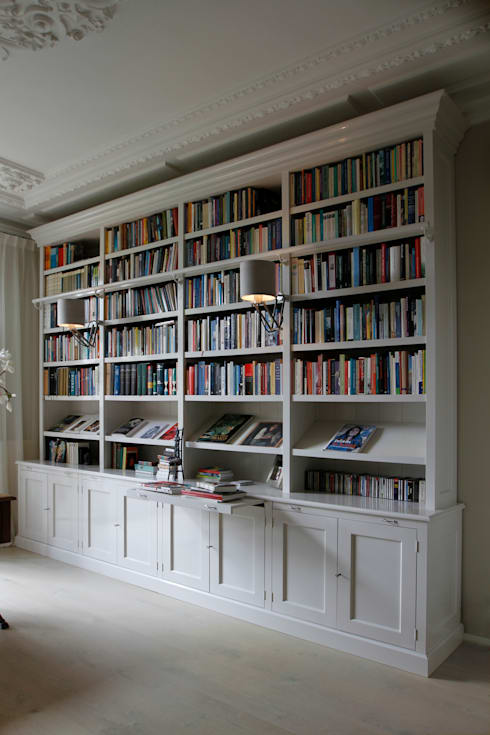 Kasten: klasieke Studeerkamer/kantoor door Proest Interior