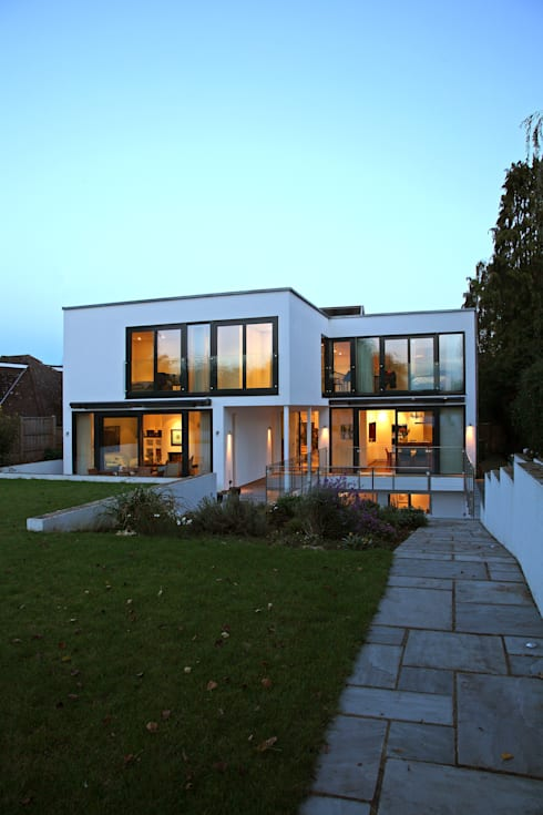 Casas de estilo  por Nicolas Tye Architects