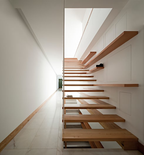 Corridor, hallway by Phyd Arquitectura