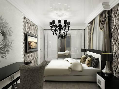 Дизайн квартиры 2: Спальни в . Автор – Efimova Ekaterina
