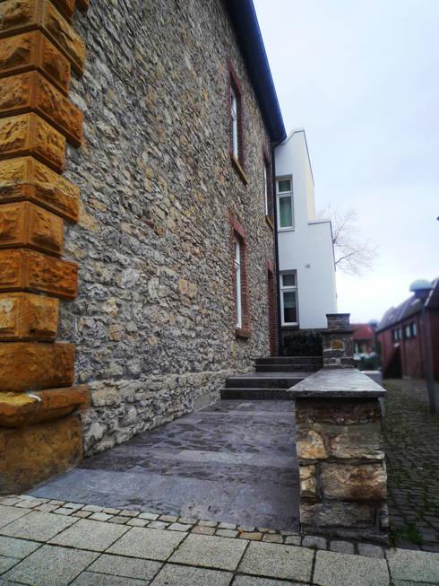 Hauseingang:  Häuser von Gronemeyer architekten