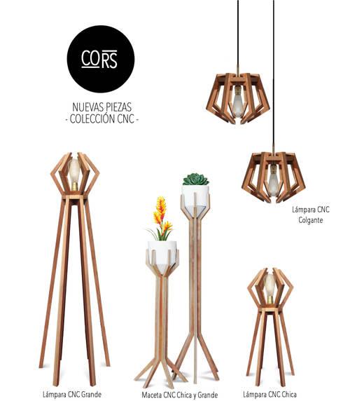 Cors Diseño: Hogar de estilo  por CORS Diseño