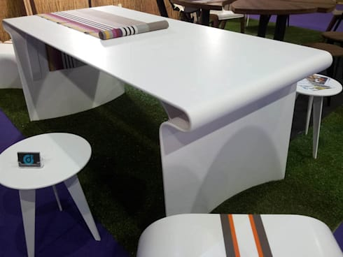 Tables corian par pp design homify for Boost masny salle a manger