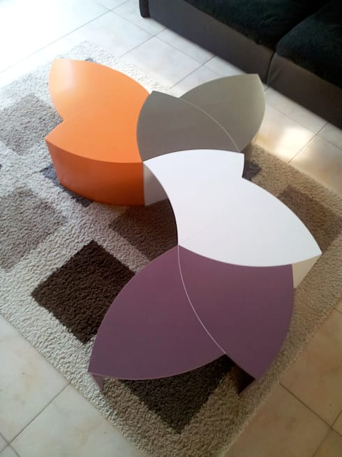 Projekty,  Salon zaprojektowane przez PP Design