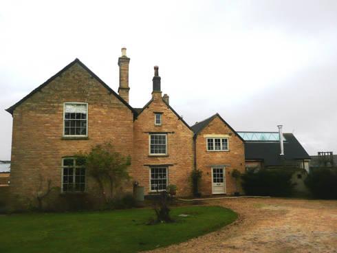 Churchill Heath Farm, Exterior: country Houses by BLA Architects