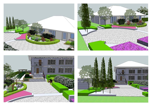Эскиз:  в . Автор – BersoDesign ❖ Landscape architecture. Design.