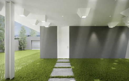 Moradia Alfazema: Casas minimalistas por EVA   evolutionary architecture