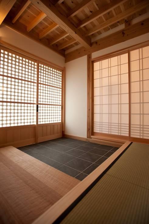 木造伝統工法のF邸: 建築設計事務所 山田屋が手掛けた家です。